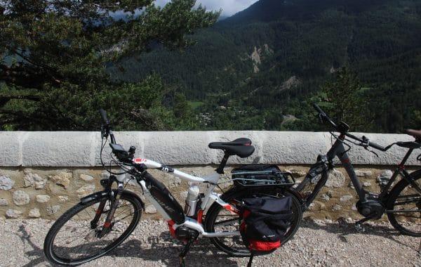 Vélos dans la Drôme