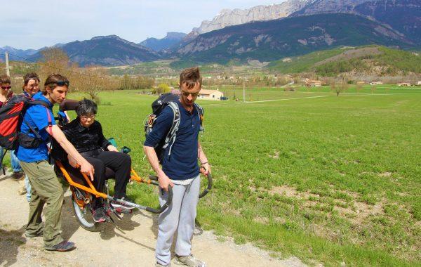 buenas ondas handicap label Chanteduc drome camping
