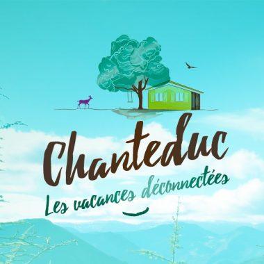 Logo Chanteduc drome camping